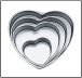 "Cake Pan - Wilton Decorator Heart 4 piece set - ""Library of Things"""